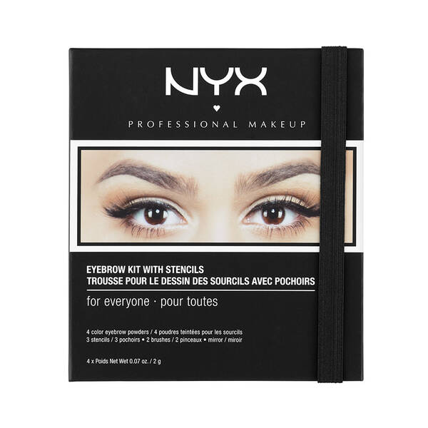 Eyebrow Kit With Stencil Nyx Professional Makeup