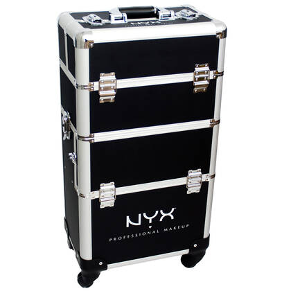 4 Tier Makeup Artist Train Case