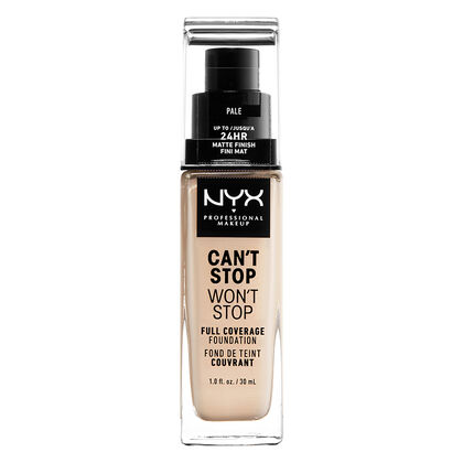 Can't Stop Won't Stop Full Coverage Foundation by Nyx